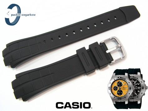 Pasek Casio MDV-501, MTD-1057 czarny gumowy