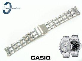 Bransoleta Casio MTP-1258D, MTP-1258 wykonana ze stali nierdzewnej