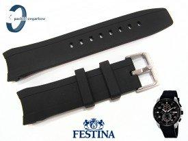Pasek Festina F6841 gumowy czarny