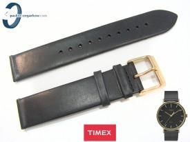 Pasek Timex TW2R26000 czarny skórzany 20 mm