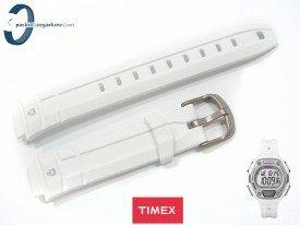 Pasek Timex TW5K89400 gumowy biały