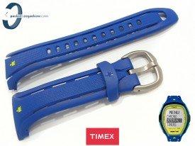 Pasek Timex TW5M00900 gumowy niebieski