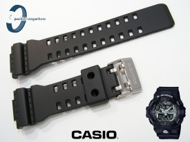 Pasek Casio G-Shock GA-710-1A, GA-710-1A2, GA-710, GA-700, GA-110RG, GA-100, GA-110 czarny matowy