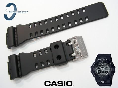 Pasek Casio G-Shock GA-710-1A, GA-710-1A2, GA-710, GA-700, GA-110RG czarny matowy