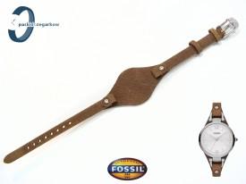 Pasek Fossil ES3060 skórzany brązowy z podkładką