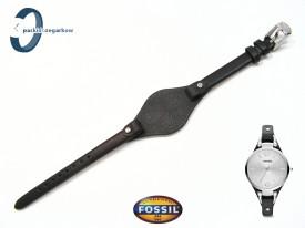 Pasek Fossil ES3199 skórzany czarny z podkładką