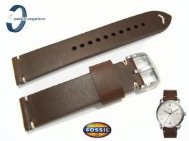 Pasek Fossil FS5275 skórzany brązowy 22 mm