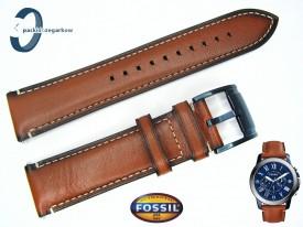 Pasek FOSSIL FS5151 skórzany brązowy 22 mm