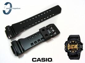 Pasek Casio GBA-400-1A9, GBA-400 czarny połysk