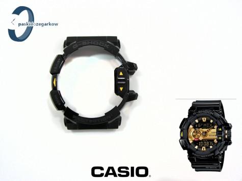 Bezel Casio GBA-400-1A9, GBA-400 czarny połysk