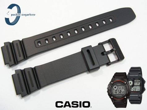 Pasek Casio AE-1200, AE-1300, F-108, W-216 czarny