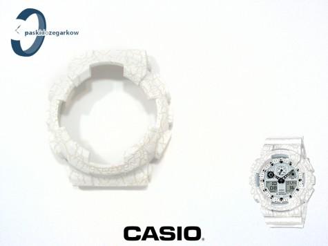 Bezel Casio GA-100CG-7A, GA-100, GA-110, GD-100, GD-110, GD-120, GA-120, GAX-100 biały wzór