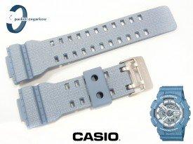 Pasek Casio GA-110DC-2A, GA-100, GA-110, GA-120, GD-100, GD-110, GD-120, GAX-100 wzór jasny jeans