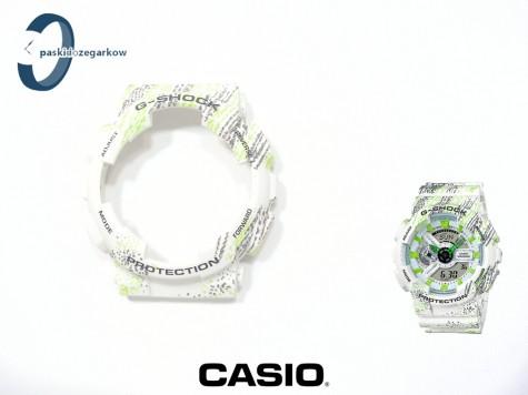 Bezel Casio GA-110TX-7A, GA-100, GA-110, GA-120, GD-100, GD-110, GD-120, GAX-100 biały mat wzór