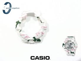 Bezel Casio GA-700 , GA-700SKZ -7A, GA-710 biały mat wzór