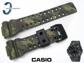 Pasek do Casio GA-700 , GA-700CM-3A , GA-710 moro zielone