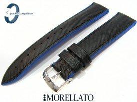 Pasek Morellato BOXING wodoodporny czarno-niebieski