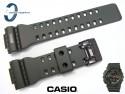 Pasek Casio GD-100MS-3, GA-100, GA-110, GA-120, GD-100, GD-110, GD-120 ciemnozielony mat