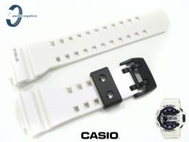 Pasek Casio GBA-400-7C, GBA-400 biały połysk