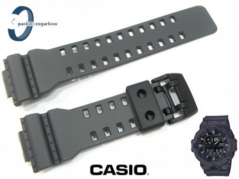 Pasek Casio GA-700UC-8A , GA-700 , GA-710 grafitowy matowy
