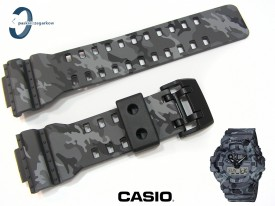 Pasek Casio GA-700CM-8A, GA-700, GA-710 wzór moro szare