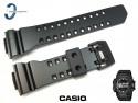 Pasek Casio GBA-400-1A, GBA-400 czarny matowy