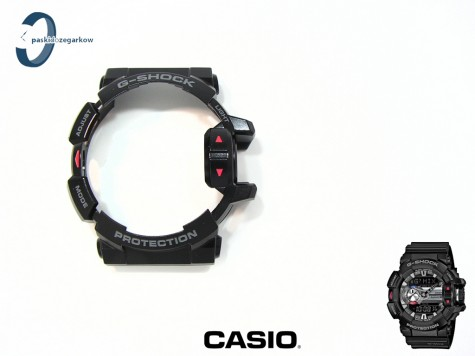 Bezel Casio GBA-400-1A, GBA-400 czarny matowy