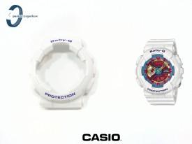 Bezel do Casio Baby-G BA-112-7A, BA-112 biały połysk