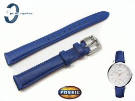 Pasek do zegarka Fossil Jacqueline ES3908 niebieski 14 mm