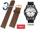 Pasek Timex T2N698 czarny gumowy 20 mm