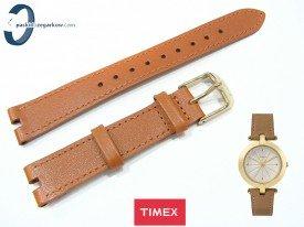 Pasek Timex TW2P79500 skórzany brązowy