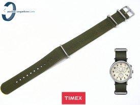 Pasek Timex Weekender TW2P71300 20 mm granatowy