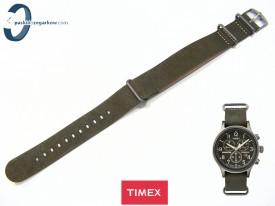 Pasek Timex Weekender TW$B04100 20 mm skórzany brązowy