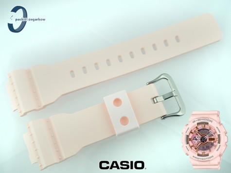Pasek Casio GMA-S110MP-4A1, GMA-S110 pudrowy róż