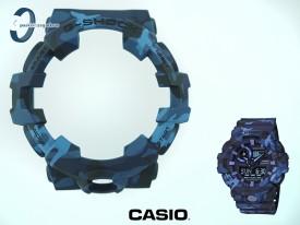Bezel Casio GA-700CM-2A, GA-700 , GA-710 wzór moro niebieskie