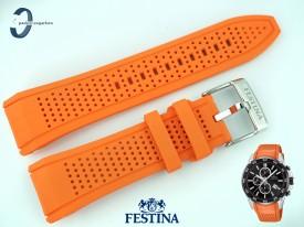 Pasek FESTINA F20330 silikonowy pomarańczowy