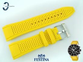 Pasek Festina F20330 silikonowy żółty
