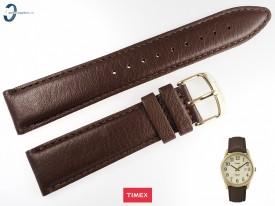 Pasek Timex TW2P75800 skórzany brązowy 20 mm