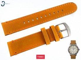 Pasek Timex TW4B06500 skórzany brązowy 20 mm