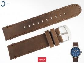 Pasek Timex TW4B06400 skórzany brązowy 20 mm