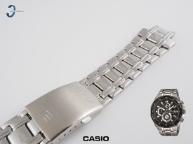 Bransoleta Casio EFR-539 stalowa w kolorze zsrebrnym