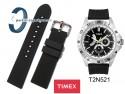 Pasek Timex T2N521 gumowy czarny 22 mm