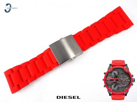 Bransoleta Diesel DZ7370 czerwona