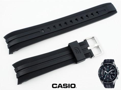 Pasek Casio EFV-550P-1AV, EFV-550 czarny