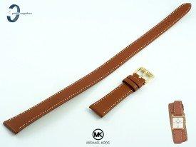 Pasek Michael Kors MK2760 skórzany brązowy 16 mm