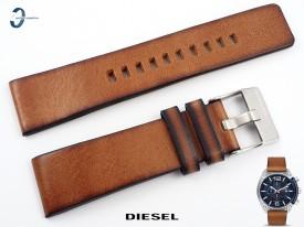 Pasek DIESEL DZ4400 skórzany brązowy