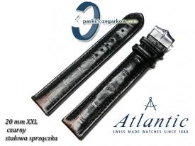 Pasek Atlantic 22mm XXL - Czarny