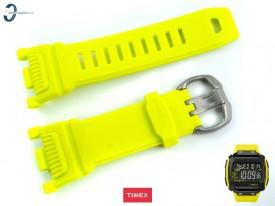 Pasek Timex TW5M18500 gumowy żółty