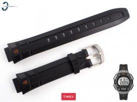 Pasek Timex TW5K89200 czarny gumowy