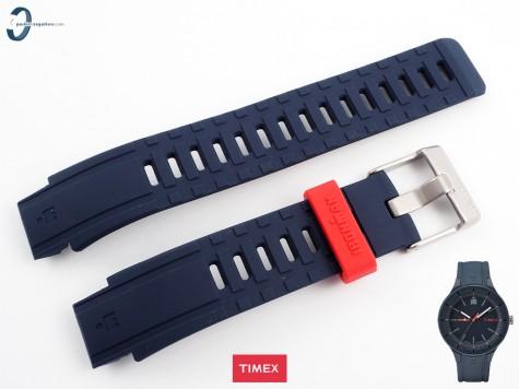 Pasek Timex TW5M17000 gumowy niebieski
